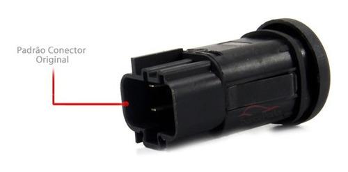 botão interruptor farol milha fiesta sedan hatch 2003 a 2014