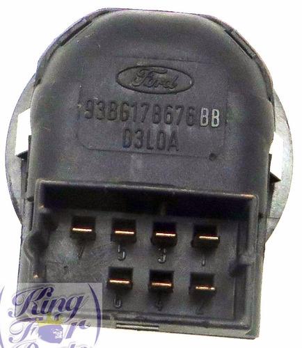 botão interruptor retrovisor elétrico original courier 97/13