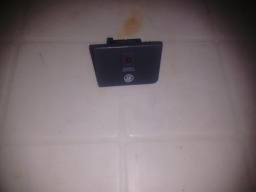 botão led luz alarme painel gm s10 blazer 96 á 00