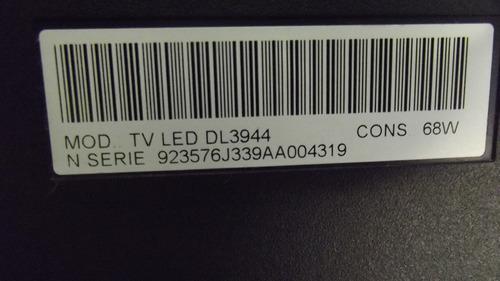 botão liga e desliga tv toshiba dl3944