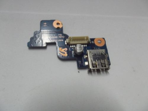 botão power e placa usb notebook samsung np-rv420