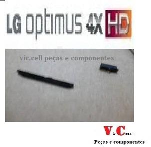 botão power e volume lg p880 original preto
