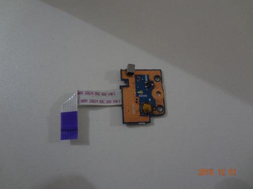 botão power hp pavilion g6