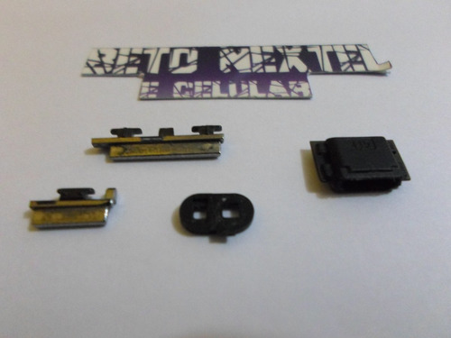 botão power volume motorola moto g 1033