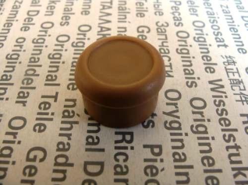 botão regulagem retrovisor marrom santana e quantum - vw !