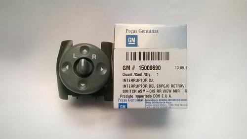 botão retrovisor elétrico original gm s10 blazer silverado