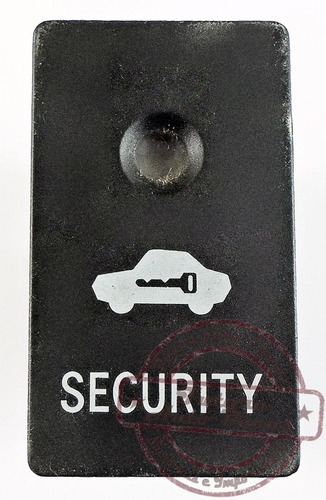 botão security do alarme p toyota corolla fielder 2003 2008