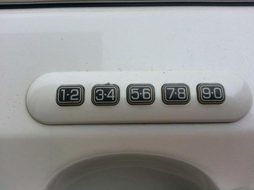 botão senha porta ford edge