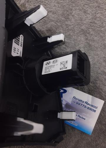 botão start-stop hyundai i30  acabamento cinza