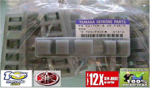 botão start stop teclado yamaha psr s650 novo original