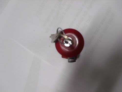 botão stop schmersal c/chave 1na +1nf