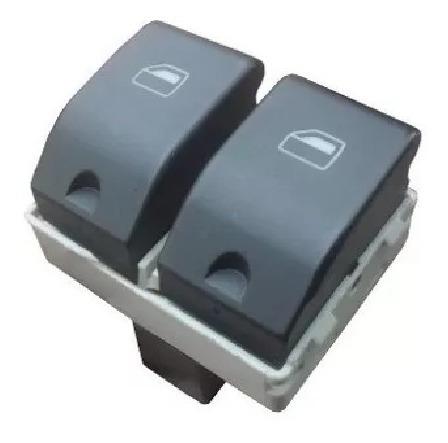 botão vidro elétrico fox gol g4 g5 g6 duplo click nova!