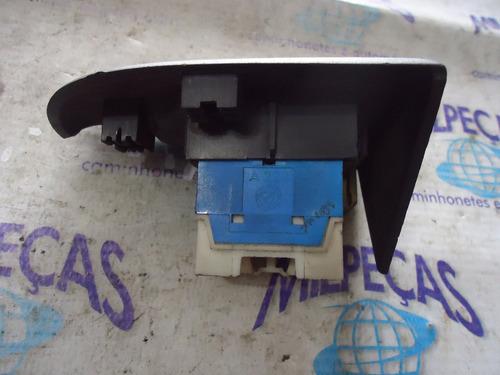 botão vidro elétr.simples c/ moldura palio siena fire an809