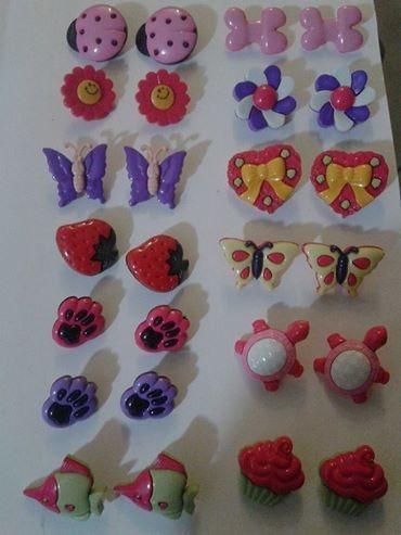 botões infantis