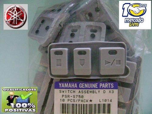 botões startstop teclado yamaha psr s975 s970 s950 s775 s750