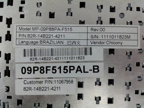 botões teclado notebook positivo mp-09p88pa-f515