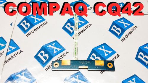 botões touchpad + flat compaq cq42 200 séries da0ax1tr6d0