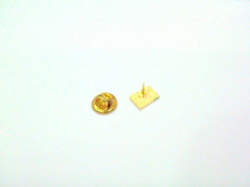 bótom balança oval vermelho/ dirieito/ oab/ folheado à ouro