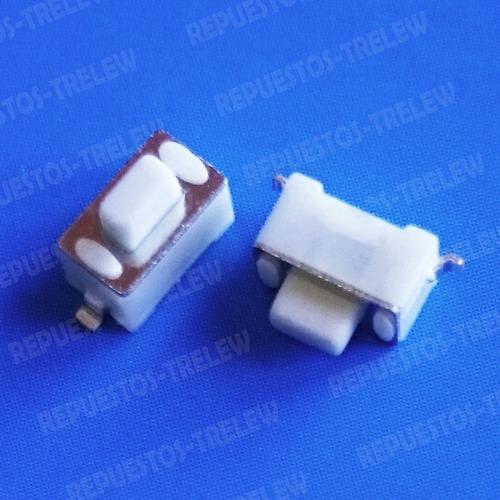 boton 3x6x5 mm - modelo 14 - pulsador 2 patas