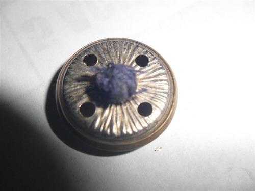 boton botones metal dorado cardon cardo relieve uniforme