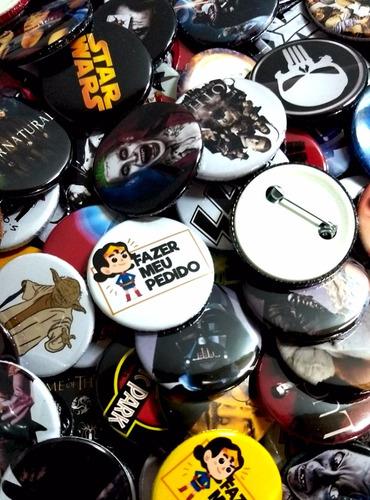 boton botons button personalizado 4,5 cm 100 peças o melhor