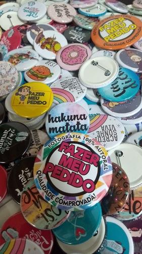 boton button botton personalizado 3,5 cm 200 peças o melhor