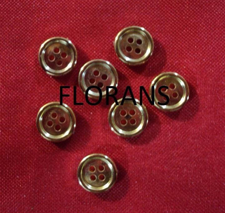 10 Botones De Coser Luz alamares de madera 35mm