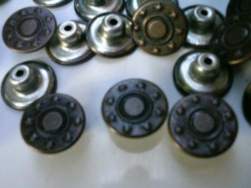botón clavo para jeans t 27 (venta mínima 10 botones)