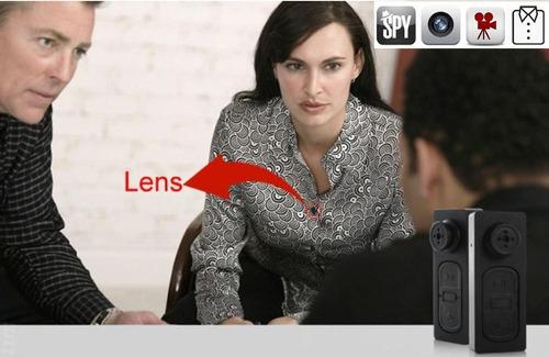 boton con camara espia oculta graba audio  videos y fotos