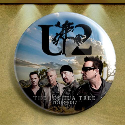botón concierto u  tour 2017 the jhosua tree