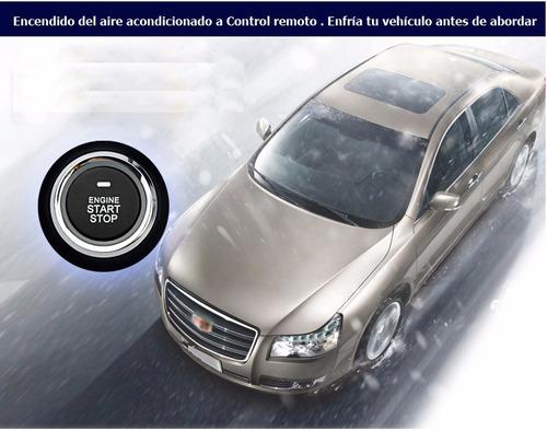 boton de encendido automovil llavero presencia alarmas auto