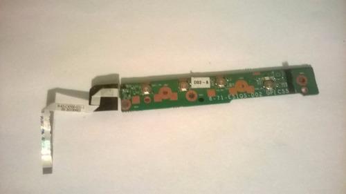 boton de encendido laptop soneview n1400 1401 1405 1410