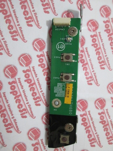 botón de encendido para hp pavilion ms 210 la