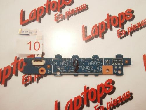 boton de encendido  sony sony pcg-61a11l
