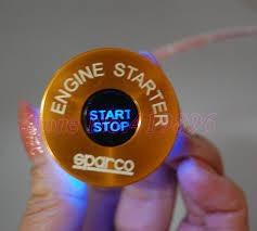 boton de encendido sparco carros tuning led