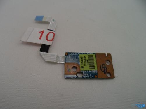 boton de encendido toshiba satelite l455