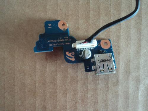 boton de encendido usb samsung rv411 rv415 rv420