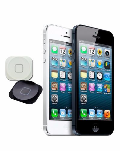 botón de home iphone 5g blanco o negro nuevo