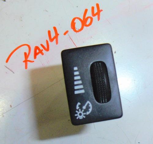 botón de intensidad de la luz toyota rav4 año 2006-2012