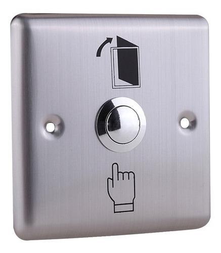 botón de salida para control de acceso