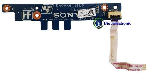 botón encendido power panel sony sve141c11u sve14125clb