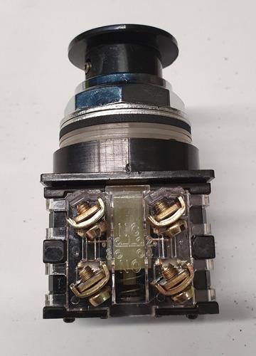 botón ge pulsador no iluminado cr104pbm91b5