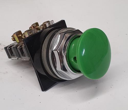 botón ge pulsador no iluminado cr104pbm91g5