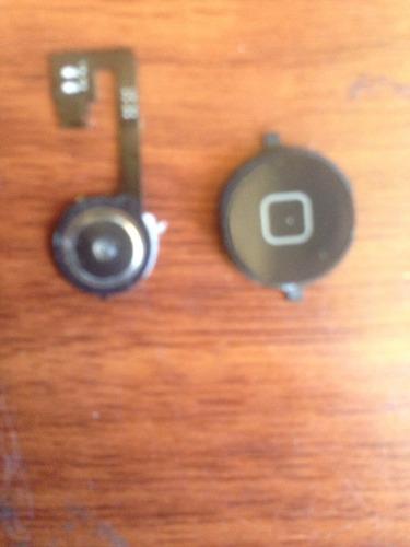 botón home original con flex y contacto para iphone 4,4s,4g