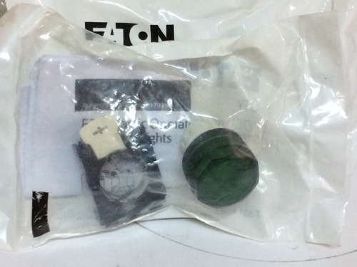 boton indicador  verde e22h3 eaton
