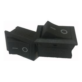 Botón Interruptor Mini Switch Rocker De Balancín On-off