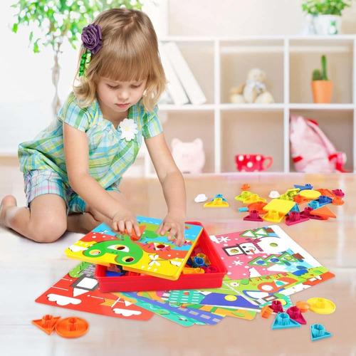 botón korano arte igualdad de color mosaico pared perforada