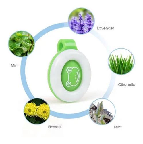 botón repelente anti mosquitos para bebés y niños