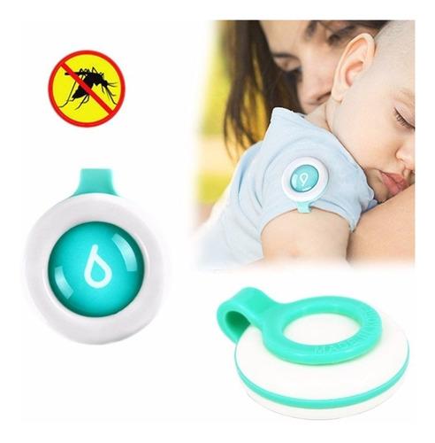 botón repelente bebé