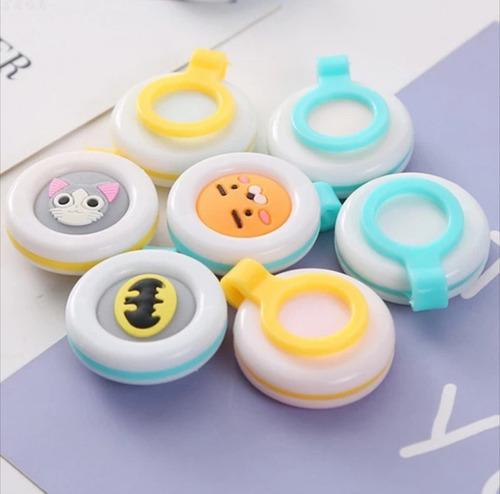 botón repelente bebés